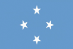 Micronesia Large Country Flag - 3' x 2'.